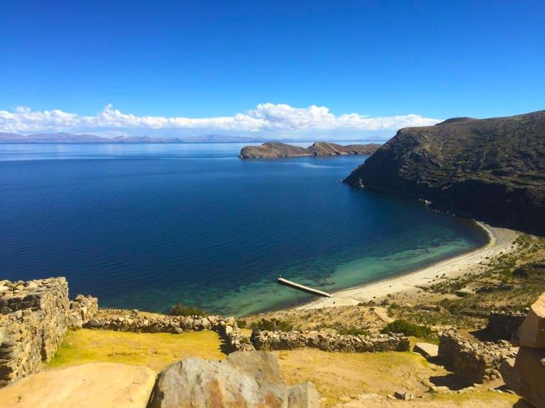 Isla del Sol ruins